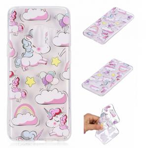 TPU Material Unicorn Pattern Painted Phone Case for Samsung Galaxy S9 -