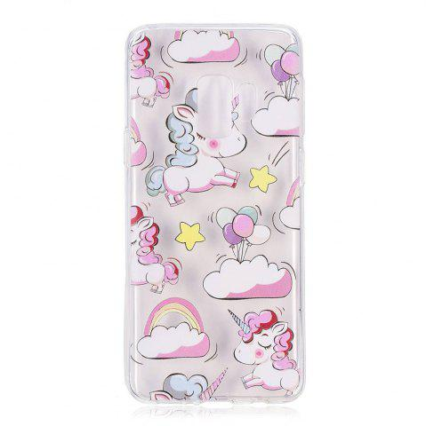 Online TPU Material Unicorn Pattern Painted Phone Case for Samsung Galaxy S9