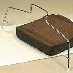 DIHE Bread Cake Two Wires Cut Into Slices Quantizer Baking Tool -