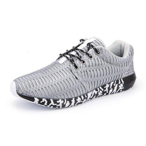 Sale ZEACAVA Men's New Running  Breathable Sneakers Outdoor Sport Shoes