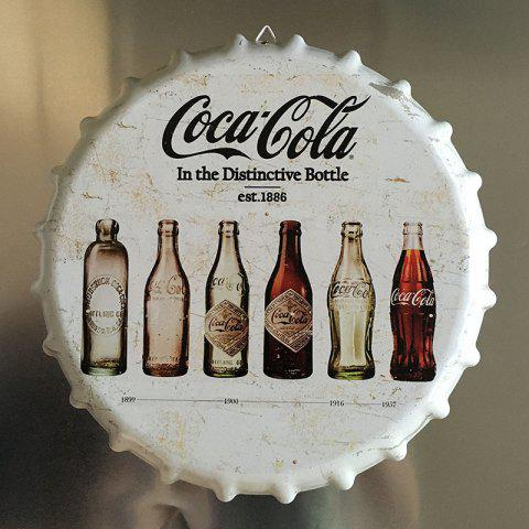Latest Vintage Style Beer Bottle Cover for Cafe Bar Restaurant Wall Decor Metal Art Poster