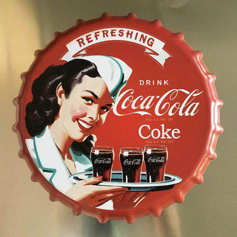 Cheap Vintage Style Beer Bottle Cover for Cafe Bar Restaurant Wall Decor Metal Art Poster