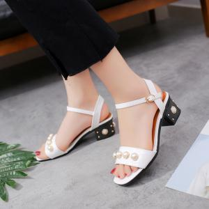 Summer New Comfortable Belt Buckle Joker Thick with Sandals -