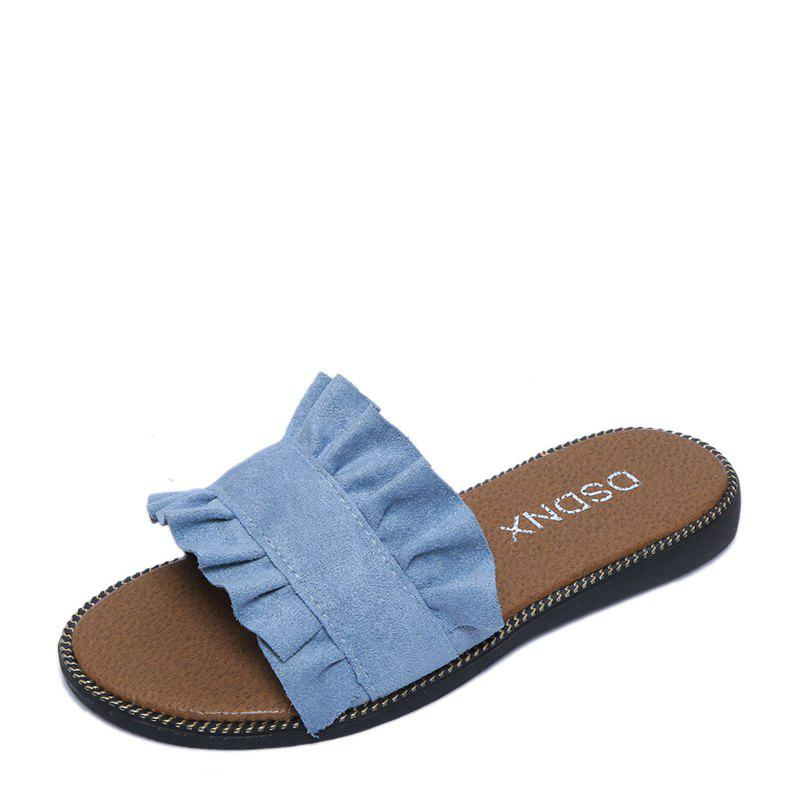 Shop Summer New Flat Outside Wear Comfortable Non-slip Cool Slippers