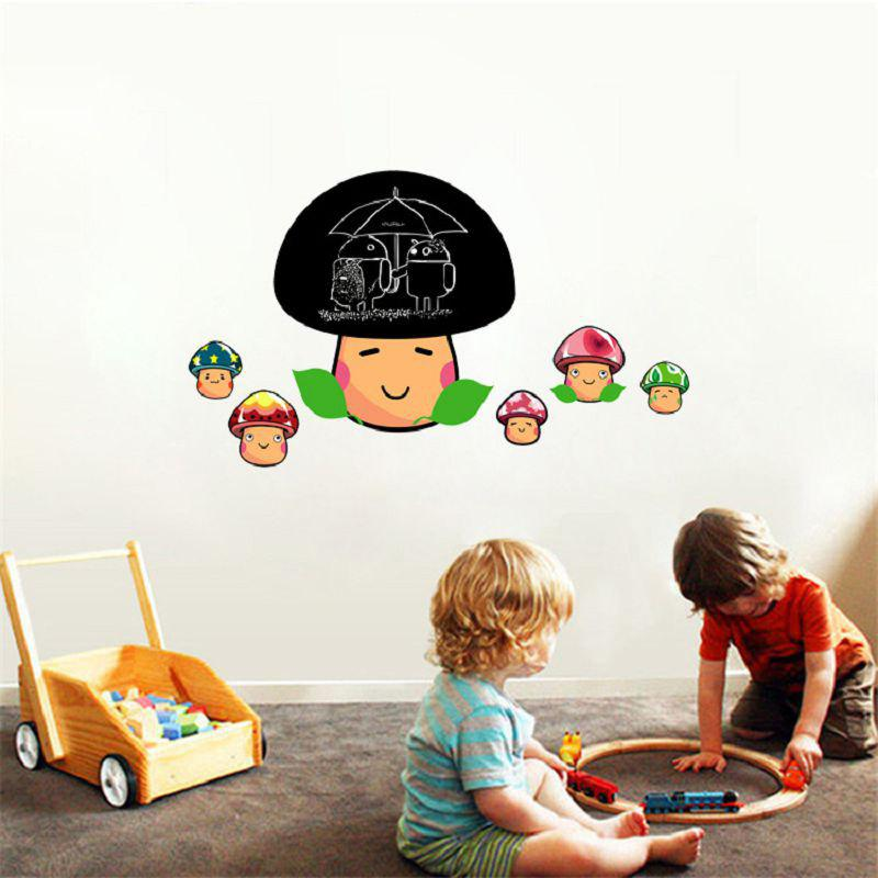 Hot DSU Creative Chalkboard Sticker Removable Vinyl Draw Erasable Blackboard Office Home Decor