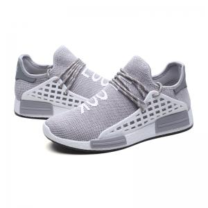 Men Casual Hiking Outdoor Mesh Lace-Up Breathable Shoes -
