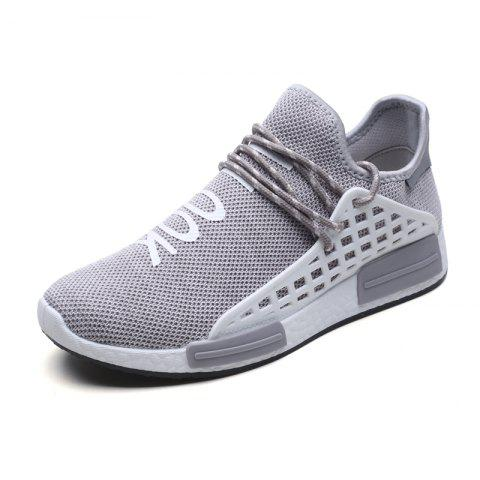 Store Men Casual Hiking Outdoor Mesh Lace-Up Breathable Shoes