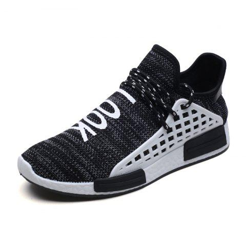 Shop Men Casual Hiking Outdoor Mesh Lace-Up Breathable Shoes