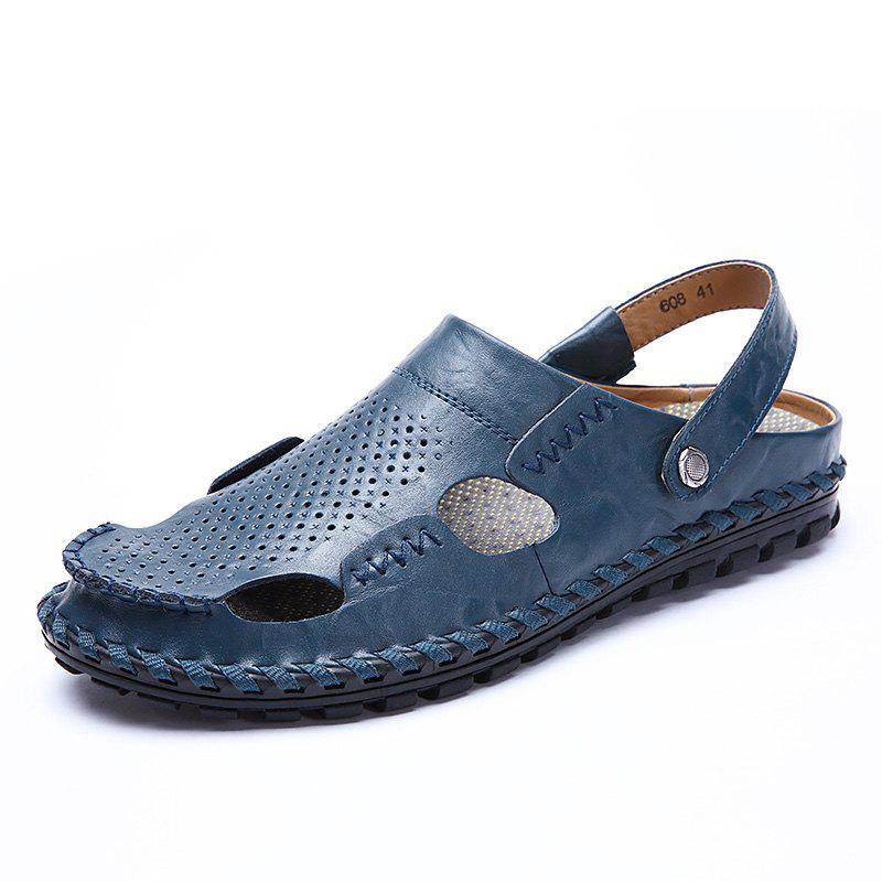 Chic Men Sandals Hiking Fashion Summer  Leisure Casual Soft Sport Beach Slippers Shoes