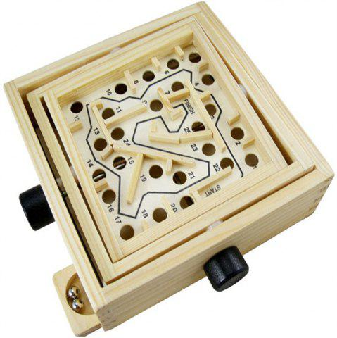 Online Intellectual Development Look for Export Games Wooden Ring Balance Toy