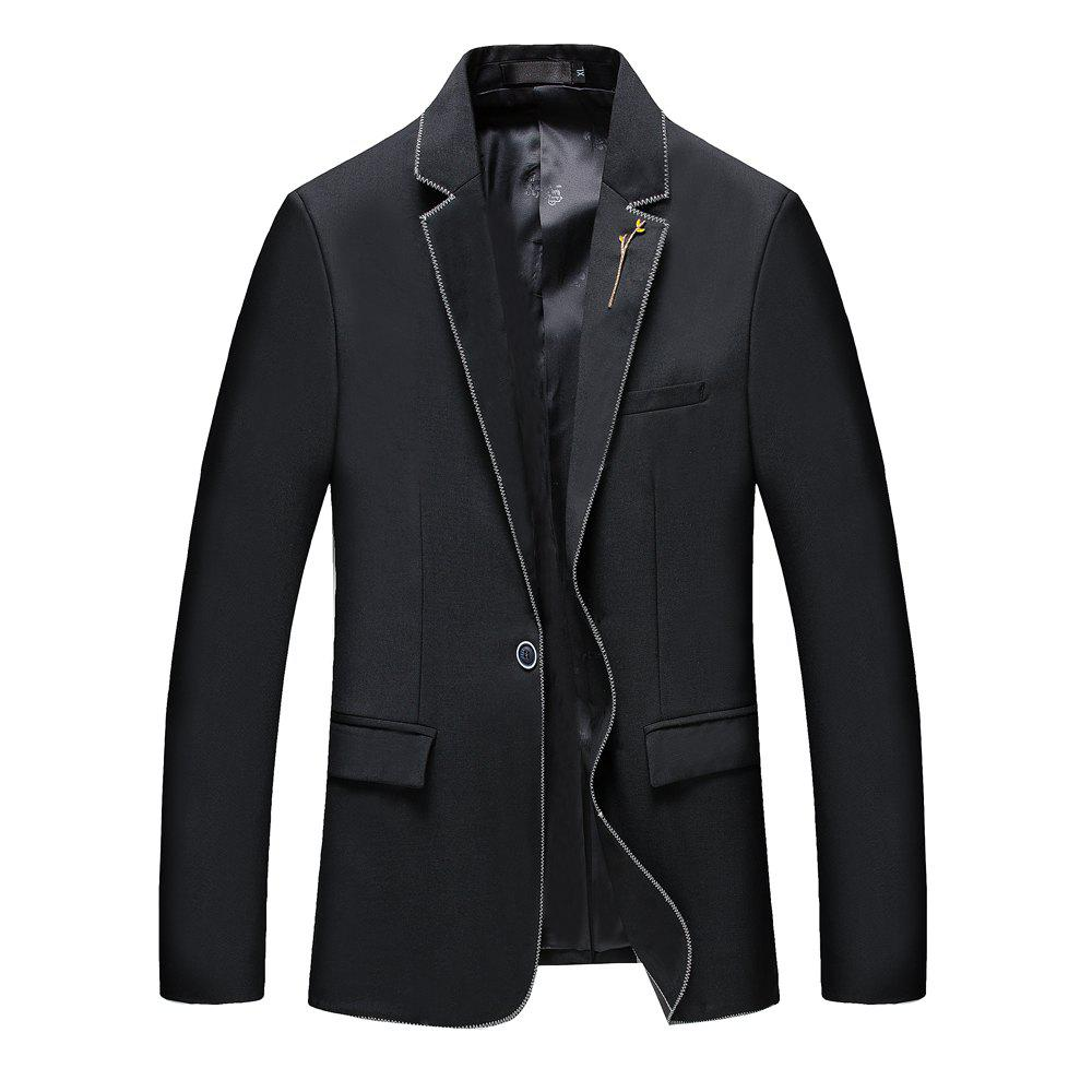 New Men's New Fashion and Leisure Long Sleeved Suit