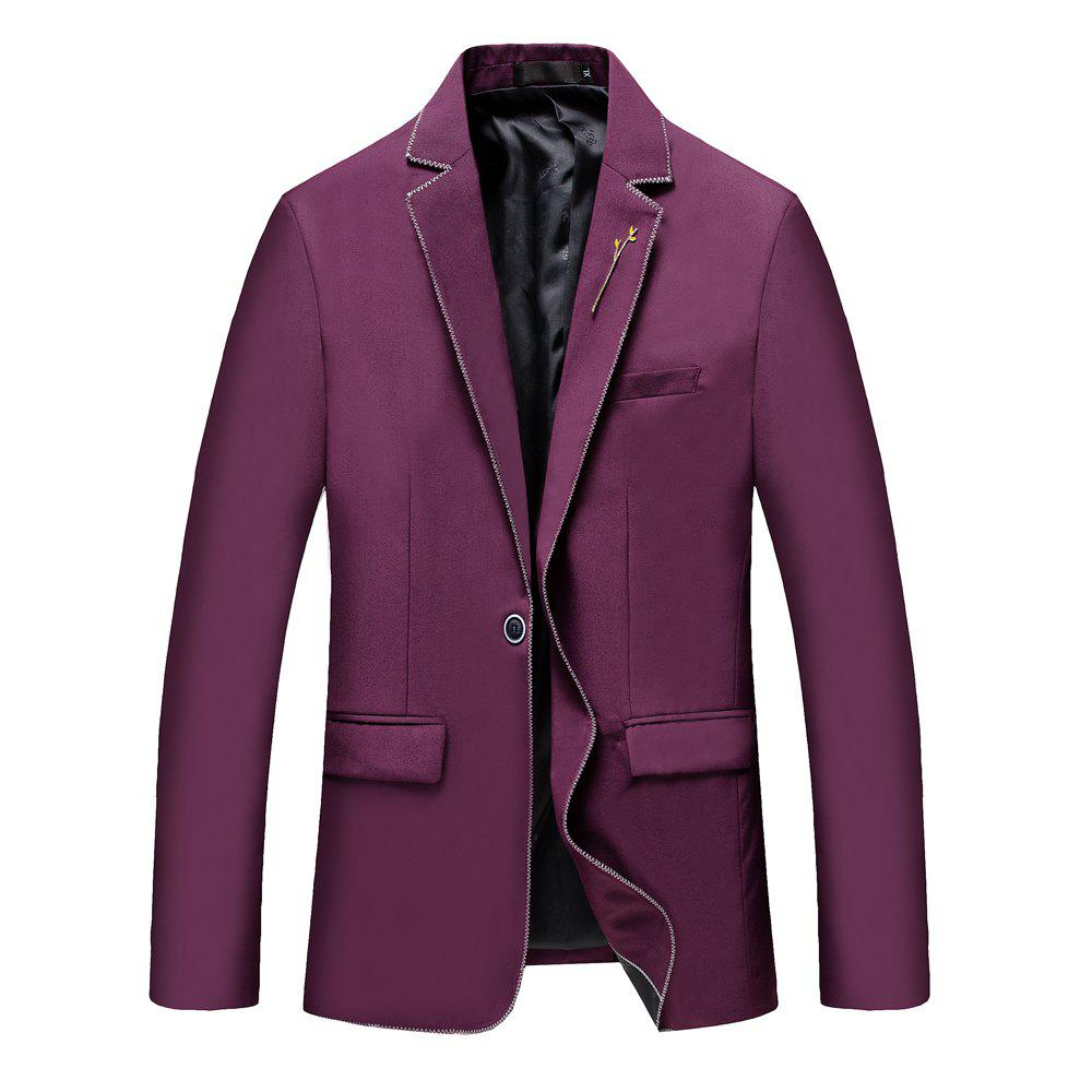 Buy Men's New Fashion and Leisure Long Sleeved Suit