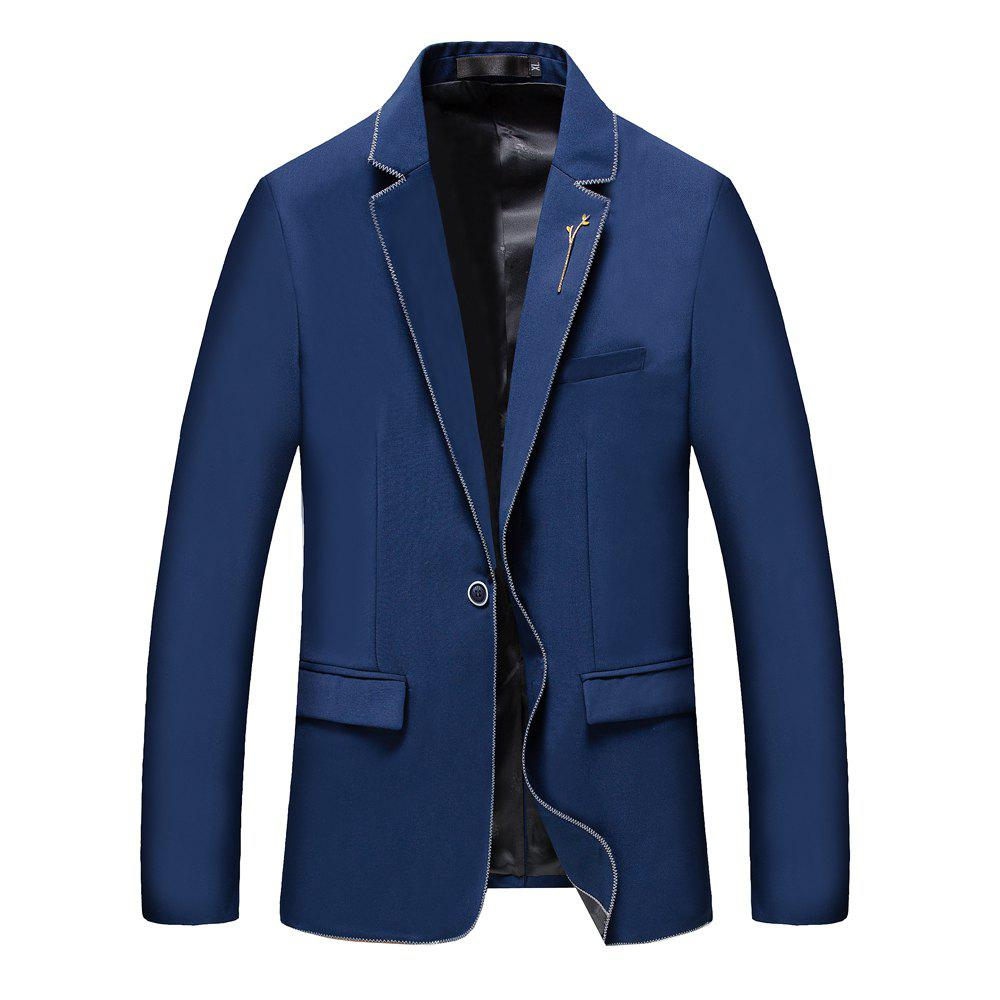 Hot Men's New Fashion and Leisure Long Sleeved Suit
