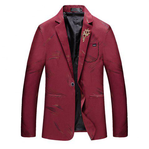 Latest Men's Casual Long Sleeved Suit Coat