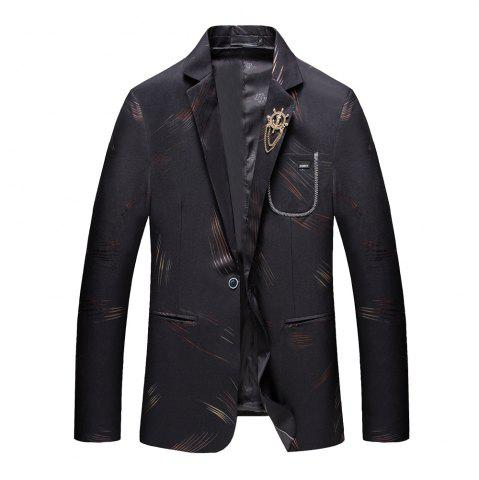 Cheap Men's Casual Long Sleeved Suit Coat