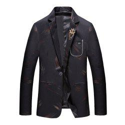 Men's Casual Long Sleeved Suit Coat -