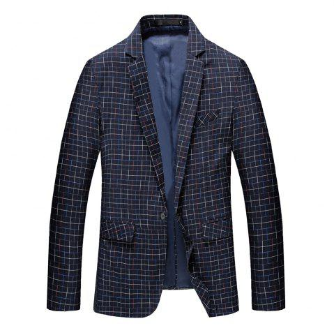 Outfit Men's Long Sleeved Suit Coat