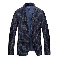 Men's Long Sleeved Suit Coat -