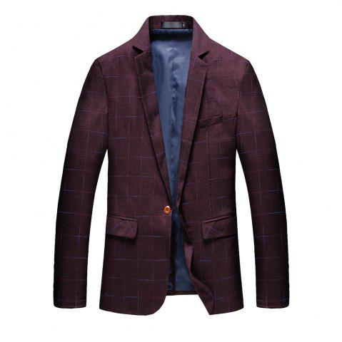 Chic Men's Comfortable and Long Sleeved Suit