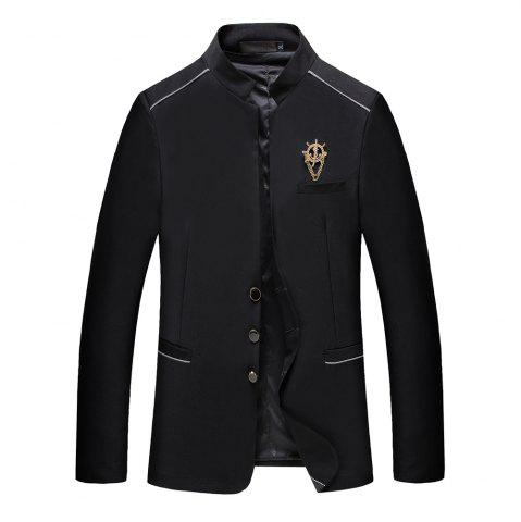 Fashion Men's Casual Long Sleeved Suit