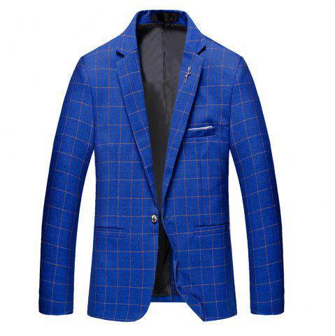 Online Men's Casual and Handsome Long Sleeved Suit
