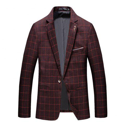Discount Men's Casual and Handsome Long Sleeved Suit