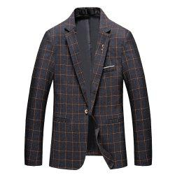 Men's Casual and Handsome Long Sleeved Suit -