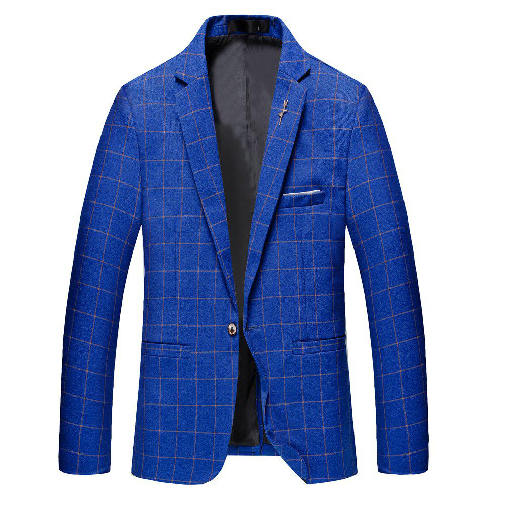 New Men's Casual and Handsome Long Sleeved Suit