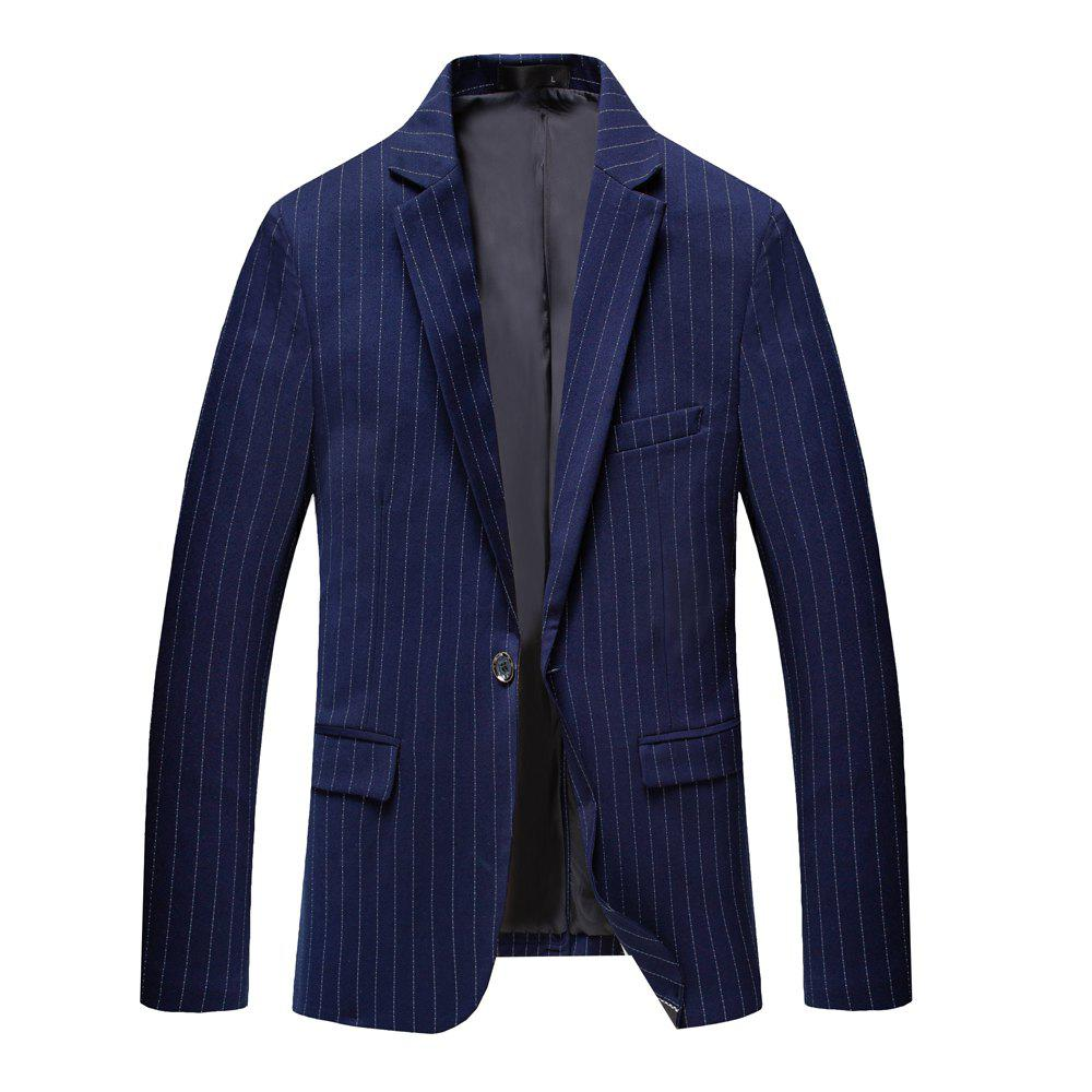 Trendy Men's Long Sleeved Jacket Suit