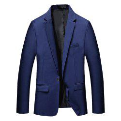 Man's Color Long Sleeved Suit -