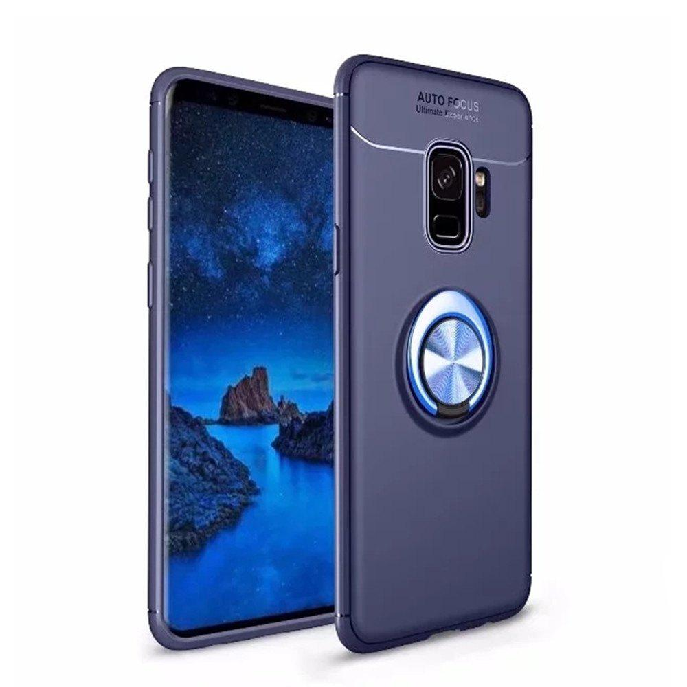 Outfits Cover Case for Samsung Galaxy S9 Ring stealth Kickstand - 360 Degree Rotating Ring Grip Finger Loop