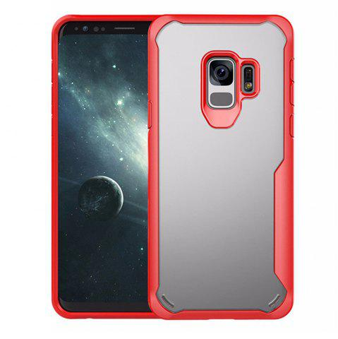 Latest Cover Case for Samsung Galaxy S9 Slim Transparent PC + TPU