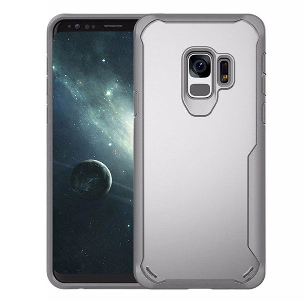 Shops Cover Case for Samsung Galaxy S9 Slim Transparent PC + TPU