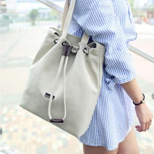 Women Large Canvas Shoulder Handbag Cross-body Bag for Girls -