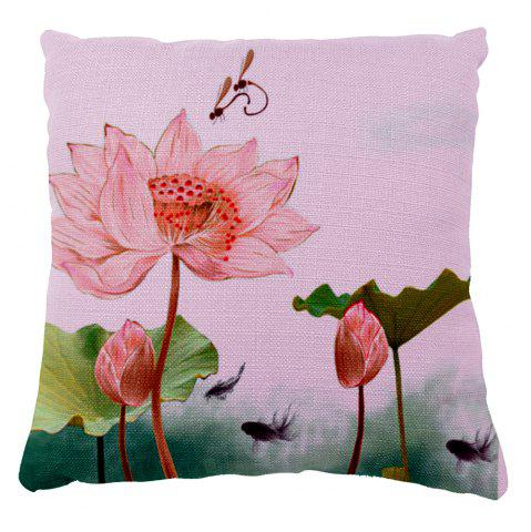 Fashion Summer lotus dragonfly Home Furnishing bedroom sofa pillow cushion cover