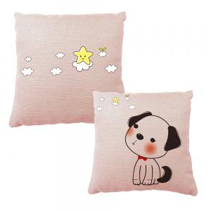 Hand Painted Puppy Home Pillowcase Home adornment Sofa Bedroom Cushion -