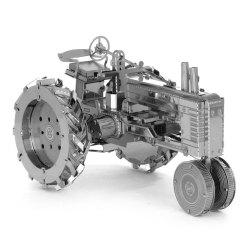 Creative Tractor 3D Metal High-quality DIY Laser Cut Puzzles Jigsaw Model Toy -