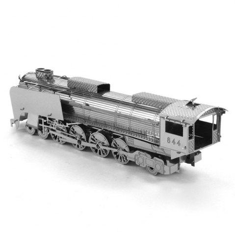 Hot Creative 844 Locomotive 3D Metal High-quality DIY Laser Cut Puzzles Jigsaw Model Toy