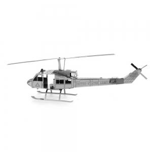 Creative Helicopter 3D Metal High-quality DIY Laser Cut Puzzles Jigsaw Model Toy -