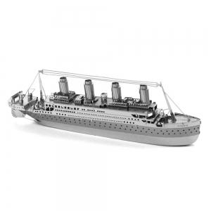 Creative Titanic 3D Metal High-quality DIY Laser Cut Puzzles Jigsaw Model Toy -