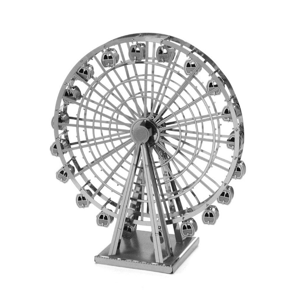 Sale Creative Ferris Wheel 3D Metal High-quality DIY Laser Cut Puzzles Jigsaw Model Toy