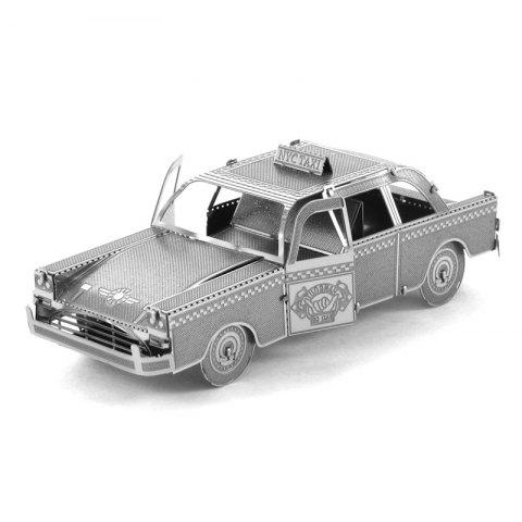 Outfit Creative Taxi 3D Metal High-quality DIY Laser Cut Puzzles Jigsaw Model Toy