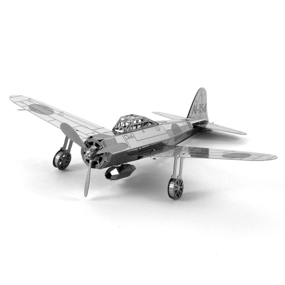 Store Creative Zero Fighter 3D Metal High-quality DIY Laser Cut Puzzles Jigsaw Model Toy