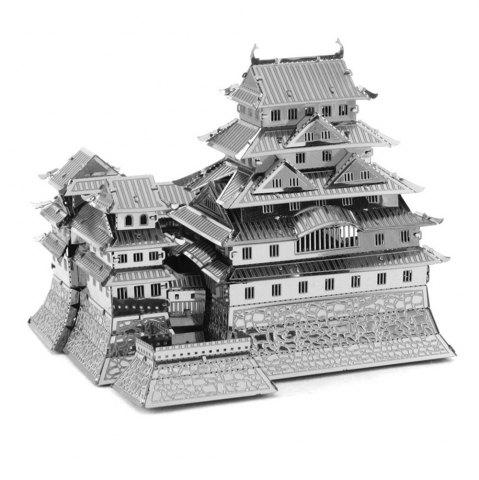 Fancy Creative Himeji Castle 3D Metal High-quality DIY Laser Cut Puzzles Jigsaw Model Toy