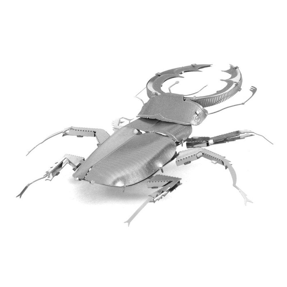 Shop Creative Beetle 3D Metal High-quality DIY Laser Cut Puzzles Jigsaw Model Toy