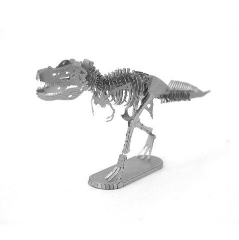 Unique Creative Tyrannosaurus Skeleton 3D Metal High-quality DIY Laser Cut Puzzles Jigsaw Model Toy