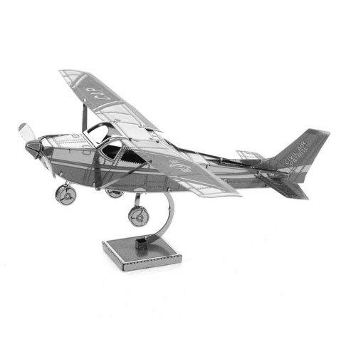 Outfits Creative Eagle Aircraft 3D Metal High-quality DIY Laser Cut Puzzles Jigsaw Model Toy