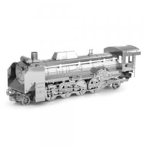 Creative D51 Iocomotive 3D Metal High-quality DIY Laser Cut Puzzles Jigsaw Model Toy -