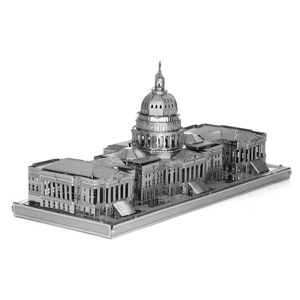 Trendy Creative US Congress 3D Metal High-quality DIY Laser Cut Puzzles Jigsaw Model Toy