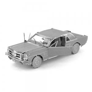 Creative Mustang Sports Car 3D Metal High-quality DIY Laser Cut Puzzles Jigsaw Model Toy -